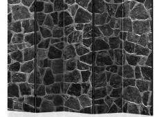 Paraván - Black Stones II [Room Dividers]